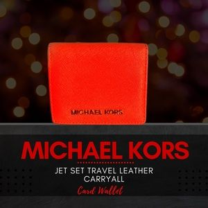 Michael Kors Jet Set Travel Card Wallet